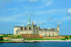 Kronborg, Elsinore. Kronborg castle in Elsinore, Denmark. Homeplace of Hamlet, prince of Denmark royalty free stock images