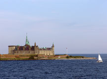 Kronborg, Elsinore. Kronborg is situated near the town of Helsingør (immortalised as Elsinore in Shakespeare's Hamlet) on the extreme northeastern tip of royalty free stock images