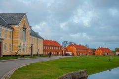 Kronborg jest poprzednim Duńskim Militarnym bazą zdjęcie stock
