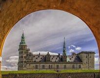 Kronborg kasztel Przez łuku Fotografia Royalty Free