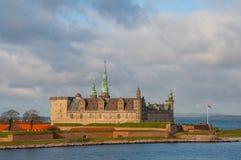 Kronborg kasztel w Dani obraz royalty free
