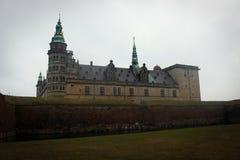 Kronborg kasztelu widok w Helsingor, Dani zdjęcia royalty free