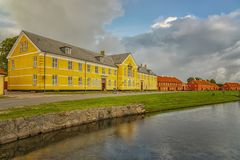 Kronborg-Leutnant-Schule lizenzfreies stockfoto