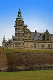 Kronborg lub Elsinore kasztel w Kopenhaga, Dani Obraz Stock