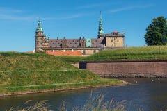 Kronborg Schloss lizenzfreies stockbild