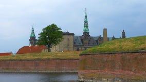 Kronborg slott, Helsingor, Själland, Danmark arkivfilmer