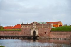 Kronborg slott i Danmark arkivfoto