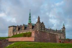 Kronborgkasteel in Denemarken stock afbeeldingen