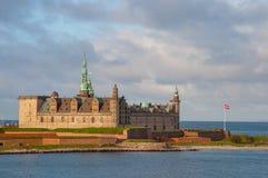 Kronborgkasteel in Denemarken royalty-vrije stock foto