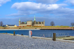 Kronborgkasteel in Denemarken Stock Foto's