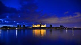 Kronborgkasteel, Denemarken Helsingor Stock Afbeelding
