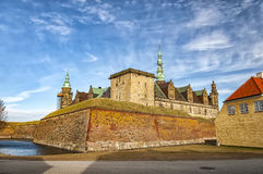 Kronborgsslott in Helsingor Royalty Free Stock Photos