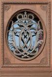 Krone auf der Tür beim Hofburg Lizenzfreie Stockfotografie