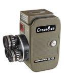Krone 8-Millimeter-Filmkamera Stockfotos