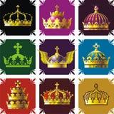 Kronen 2 stock illustratie