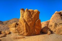 Kronen-geformter Sandstein-Felsen Lizenzfreies Stockbild