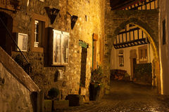 Kronenburg在夜之前 免版税图库摄影