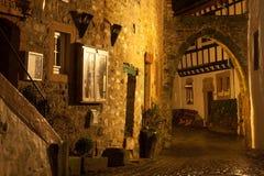 Kronenburg nocą fotografia royalty free