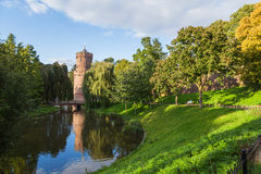 Kronenburger park in Nijmegen Royalty Free Stock Image
