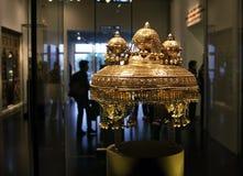 Kronenkasten von Torah Stockfoto