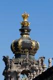 Kronentor em Dresden Foto de Stock