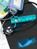 kronisk läkarundersökning för omsorg Royaltyfria Foton