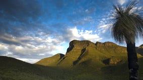 Kronkelend landschap Royalty-vrije Stock Fotografie