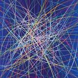 Kronkelweg vector illustratie