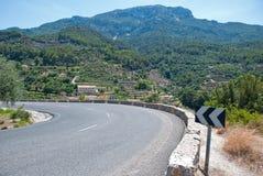Kronkelweg (Majorca Stock Fotografie