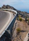 Kronkelweg (Majorca) Royalty-vrije Stock Afbeeldingen