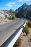 Kronkelweg (Majorca) Stock Foto