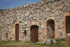 Kronoberg fort remains Stock Images