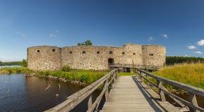 Kronoberg fort ruin Sweden Stock Photography