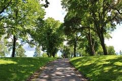 Kronoberg Park in Stockholm. In Kronobergsparken on Kungsholmen in Stockholm Stock Photo