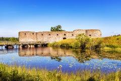 Kronobergs Castle Ruin Royalty Free Stock Image