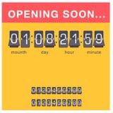Kronometer för larm för design för minut för tecken för tid för illustration för timme för symbol för nedräkning för stoppur för  stock illustrationer
