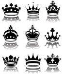 kronor royaltyfri illustrationer