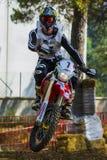 Kronos Mesmoto Team. 24 Hours of Resistance. International motorcycle Vall del Tenes. Barcelona, Spain. September 05, 2015 Stock Image