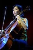 Kronos Quartet American string quartet, concert at Heineken Primavera Sound 2014 Stock Photo