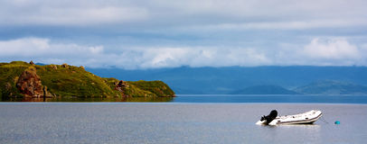 Kronotskое Lake, Kronotsky nature reserve, Russia Royalty Free Stock Photography