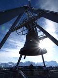 Kronplatz bell Stock Photography