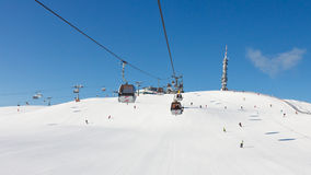 Kronplatz Ski Resort Stock Photos