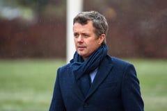 Kronprins av Danmark Frederik royaltyfria bilder