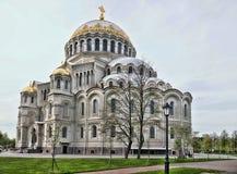 kronstadt собора военноморское стоковое изображение rf