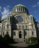 kronstadt собора военноморское стоковое фото