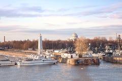Kronstadt Foto de Stock Royalty Free
