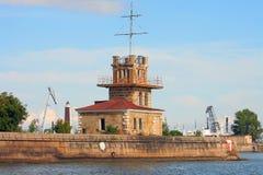 Kronstadt, alberino del porto Fotografia Stock