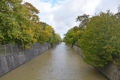 Kronstadt canal Stock Image