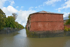 Kronstadt canal Stock Photography