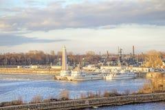 Kronstadt  city Stock Photo